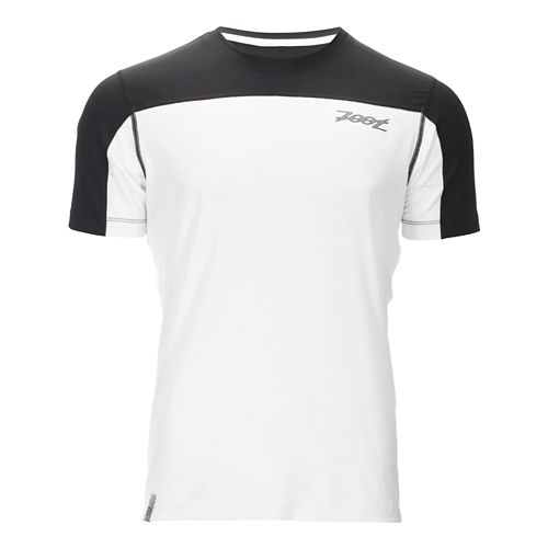 Mens Zoot Chill Out Tee Short Sleeve Technical Tops - White/Black L