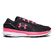 Womens Under Armour Speedform Apollo 2 RF Running Shoe - Harmony Red/Black 8