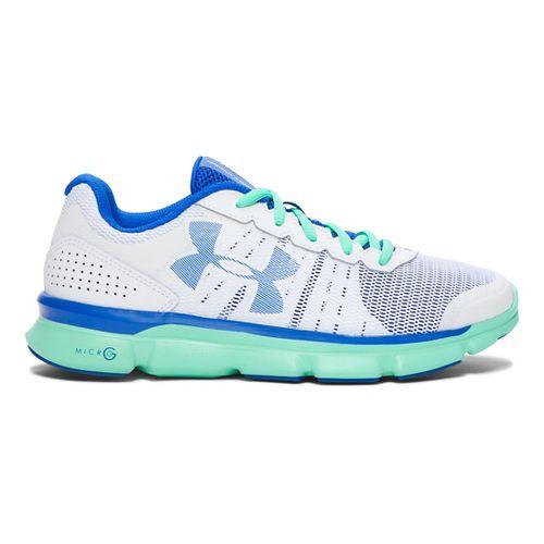 Womens Under Armour Micro G Speed Swift Running Shoe - White 6