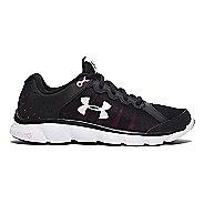 Womens Under Armour Micro G Assert 6 Running Shoe - Black 10