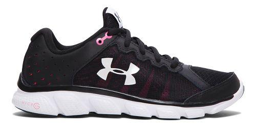 Womens Under Armour Micro G Assert 6 Running Shoe - Black 7.5