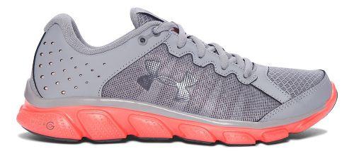 Womens Under Armour Micro G Assert 6 Running Shoe - Steel 5