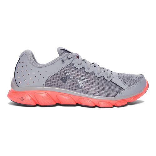 Womens Under Armour Micro G Assert 6  Running Shoe - Steel 9.5