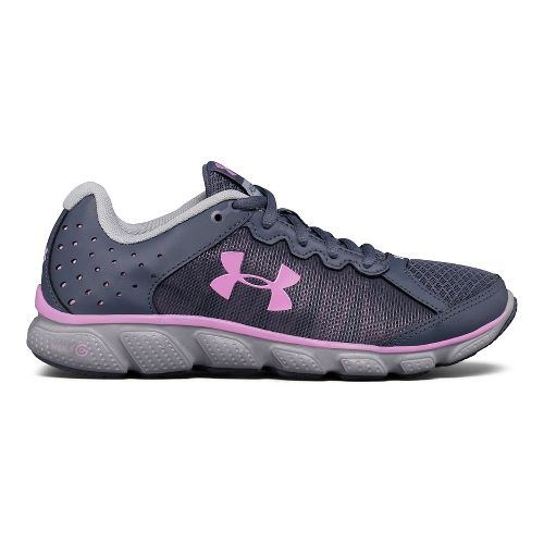 Womens Under Armour Micro G Assert 6 Running Shoe - Apollo Grey 10