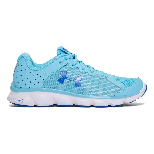 Womens Under Armour Micro G Assert 6  Running Shoe - Venetian Blue 8.5