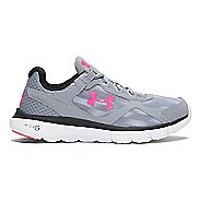 Womens Under Armour Micro G Velocity RN GR Running Shoe