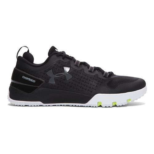 Mens Under Armour Charged Ultimate TR Low Cross Training Shoe - Black 10.5