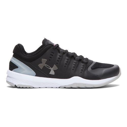Womens Under Armour Charged Stunner TR Cross Training Shoe - Black/Aluminum 7.5