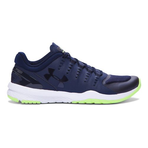 Womens Under Armour Charged Stunner TR Cross Training Shoe - Midnight Navy/White 7