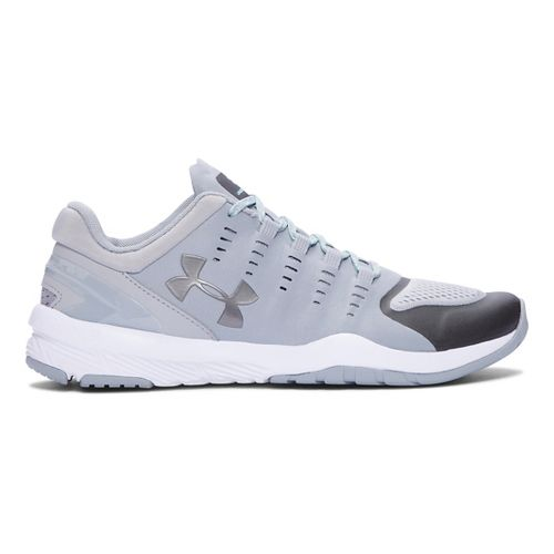 Womens Under Armour Charged Stunner TR Cross Training Shoe - Overcast Grey/White 7.5