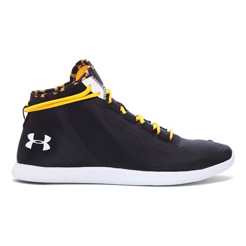 Womens Under Armour StudioLux Mid LNR Cross Training Shoe - Black 7.5