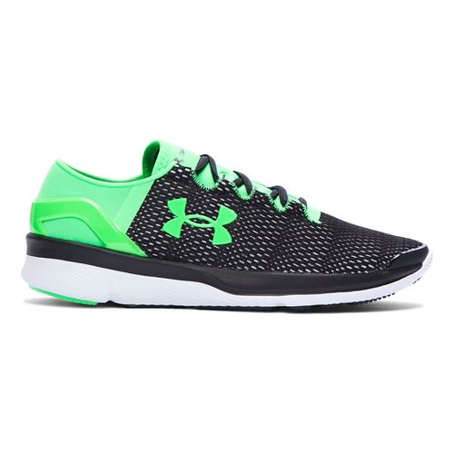 Kids Under Armour Speedform Apollo 2 Running Shoe - Black 6.5Y