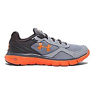 Kids Under Armour Boys Micro G Velocity RN GR Running Shoe