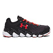 Kids Under Armour Micro G Spine Disrupt Running Shoe - Charcoal 4.5Y