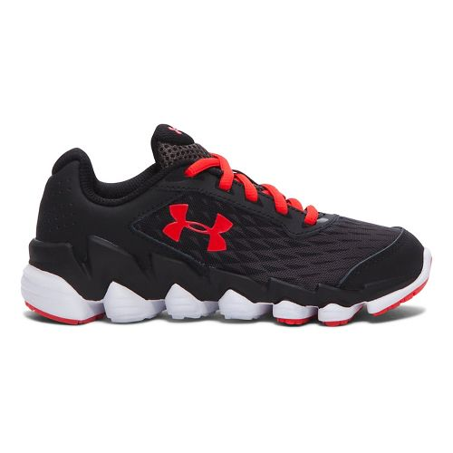 Kids Under Armour Spine Disrupt Running Shoe - Charcoal 1Y