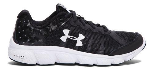 Kids Under Armour Micro G Assert 6 Running Shoe - Black 6Y