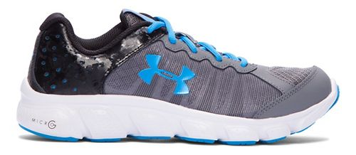Under Armour Micro G Assert 6  Running Shoe - Graphite 7Y