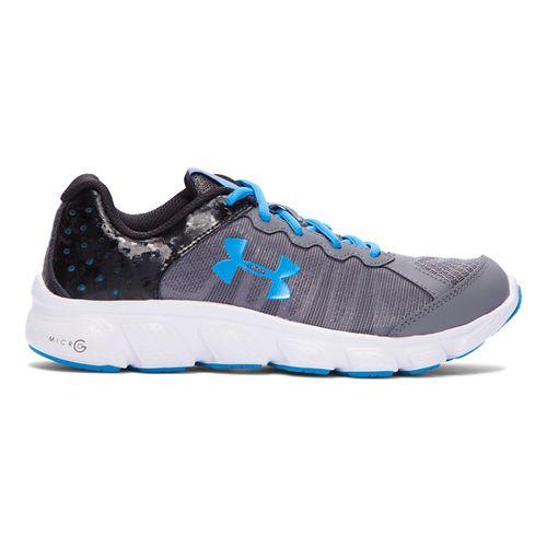 Under Armour Micro G Assert 6  Running Shoe - Graphite 7Y