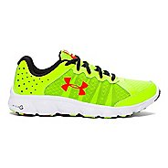 Kids Under Armour Micro G Assert 6 Running Shoe - Yellow/Anthem Red 7Y