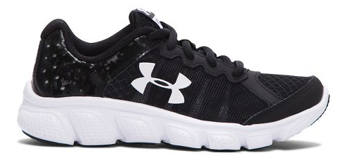 Kids Under Armour Assert 6 Running Shoe - Black 1.5Y