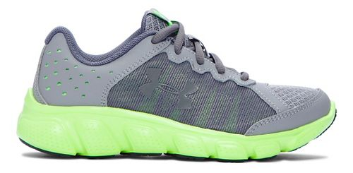 Under Armour Assert 6  Running Shoe - Steel/Lime Light 11C
