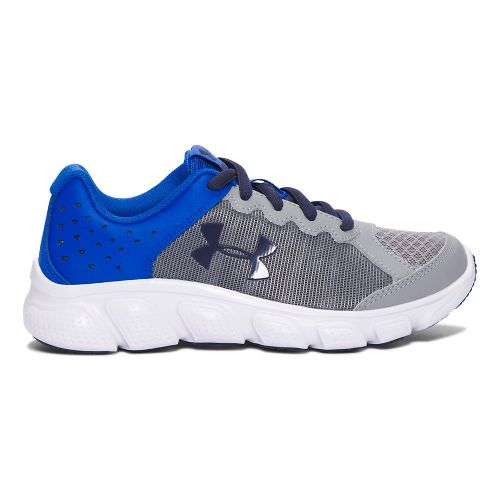 Under Armour Assert 6  Running Shoe - Steel/Lime 3Y