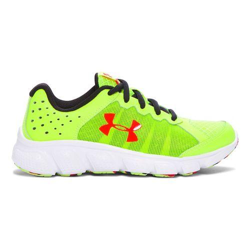 Kids Under Armour Assert 6 Running Shoe - Yellow/White 11C