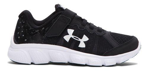 Kids Under Armour Assert 6 AC Running Shoe - Black 3Y