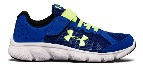 Kids Under Armour Assert 6 AC Running Shoe - Royal/White 3Y