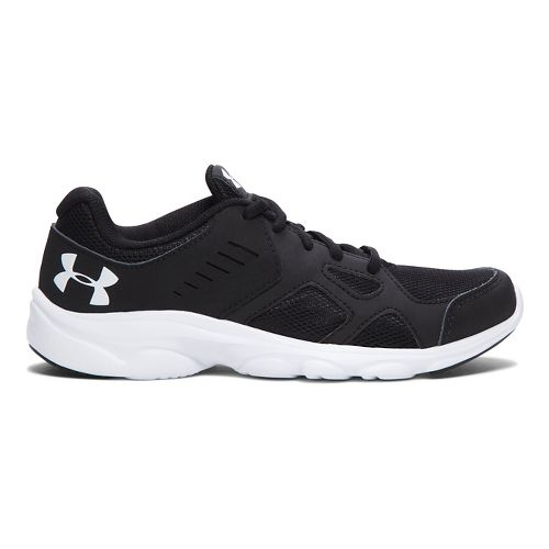 Kids Under Armour Pace RN Running Shoe - Black 4.5Y