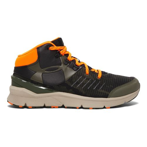 Kids Under Armour Overdrive Mid GRT Running Shoe - Black/Sandstorm 7Y