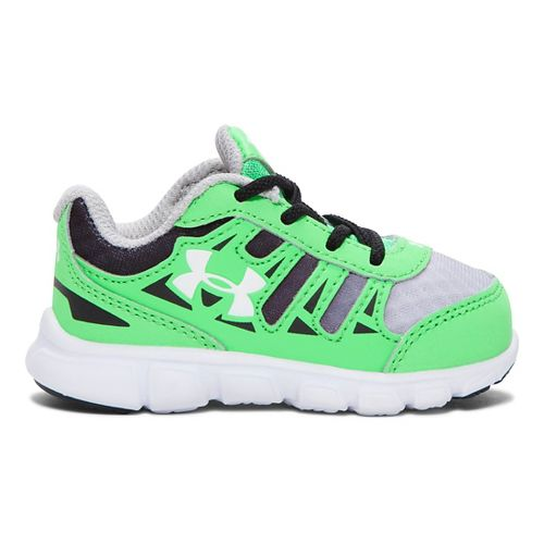 Kids Under Armour Spine RN GR Running Shoe - Laser Green 5C