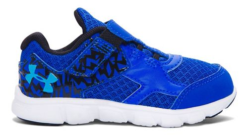 Kids Under Armour B INF Thrill RN AC Running Shoe - Ultra Blue/White 5C