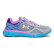 Kids Under Armour Girls MicroG Velocity RN Running Shoe