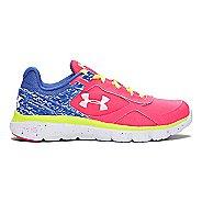 Kids Under Armour Girls MicroG Velocity RN Running Shoe