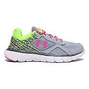 Kids Under Armour Girls Velocity RN GR Pre School Running Shoe