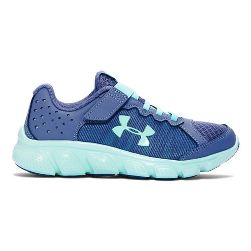 Kids Under Armour Assert 6 AC Running Shoe - Purple/Crystal 12C