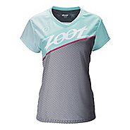 Womens Zoot Run Team Tee Short Sleeve Technical Tops