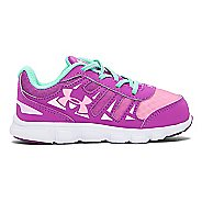 Kids Under Armour Girls Spine RN GR Running Shoe