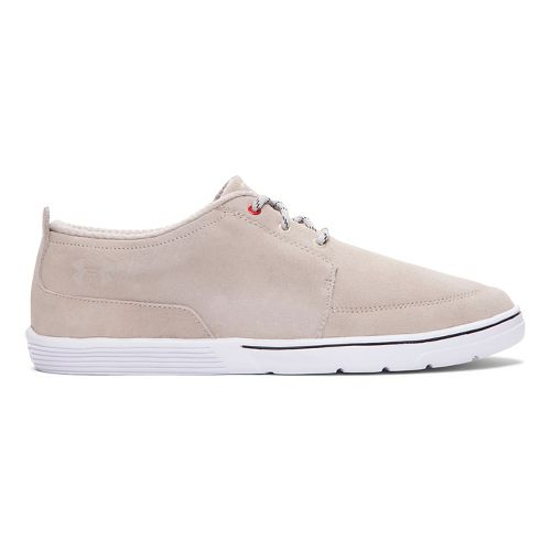 Mens Under Armour Elite Encounter II Casual Shoe - Dune/Red 9