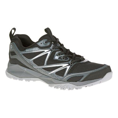 Mens Merrell Capra Bolt Waterproof Hiking Shoe - Black 10