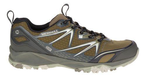 Mens Merrell Capra Bolt Waterproof Hiking Shoe - Dark Olive 11