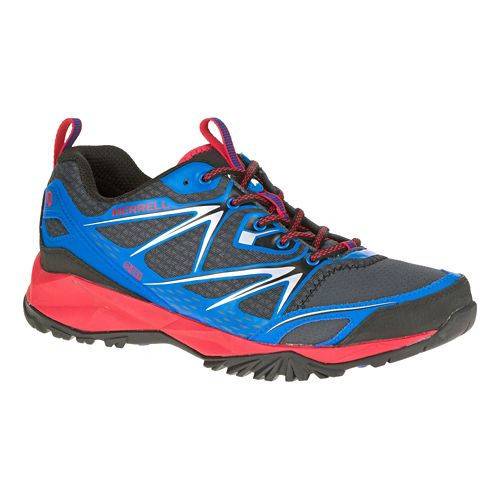 Mens Merrell Capra Bolt Waterproof Hiking Shoe - Blue 14