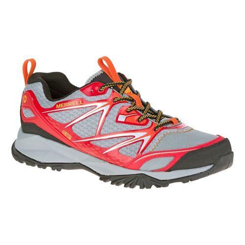 Mens Merrell Capra Bolt Waterproof Hiking Shoe - Bright Red 9