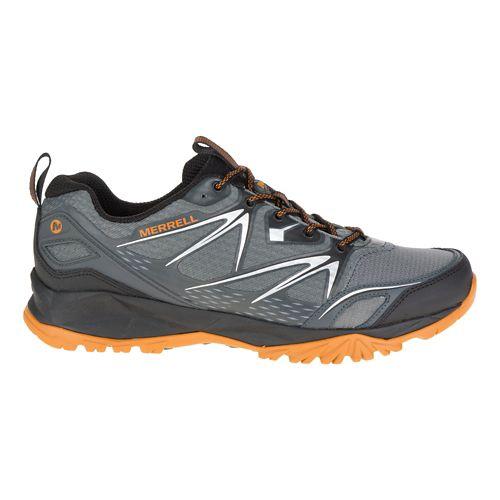 Mens Merrell Capra Bolt Hiking Shoe - Grey/Orange 7.5