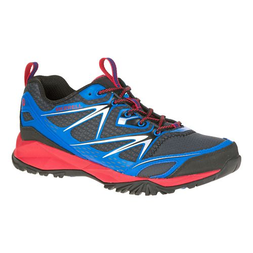 Mens Merrell Capra Bolt Hiking Shoe - Blue 9.5