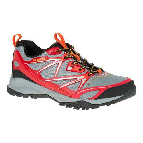 Mens Merrell Capra Bolt Hiking Shoe - Bright Red 10.5