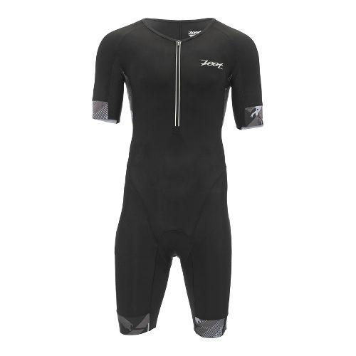 Mens Zoot Ultra Tri Aero Skinsuit Triathlon UniSuits - Ultra Black L