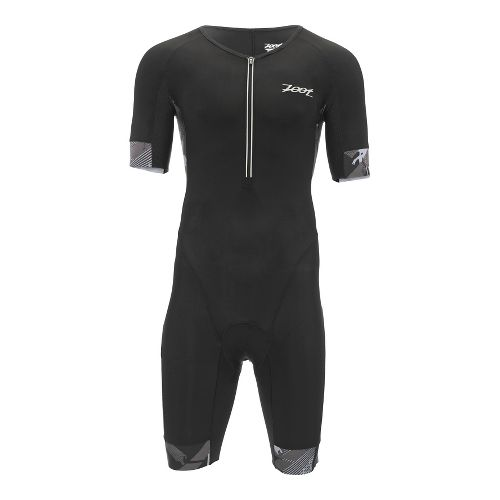 Mens Zoot Ultra Tri Aero Skinsuit Triathlon UniSuits - Ultra Black XL