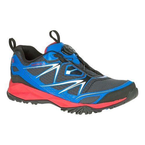Mens Merrell Capra Bolt Boa Hiking Shoe - Blue 8